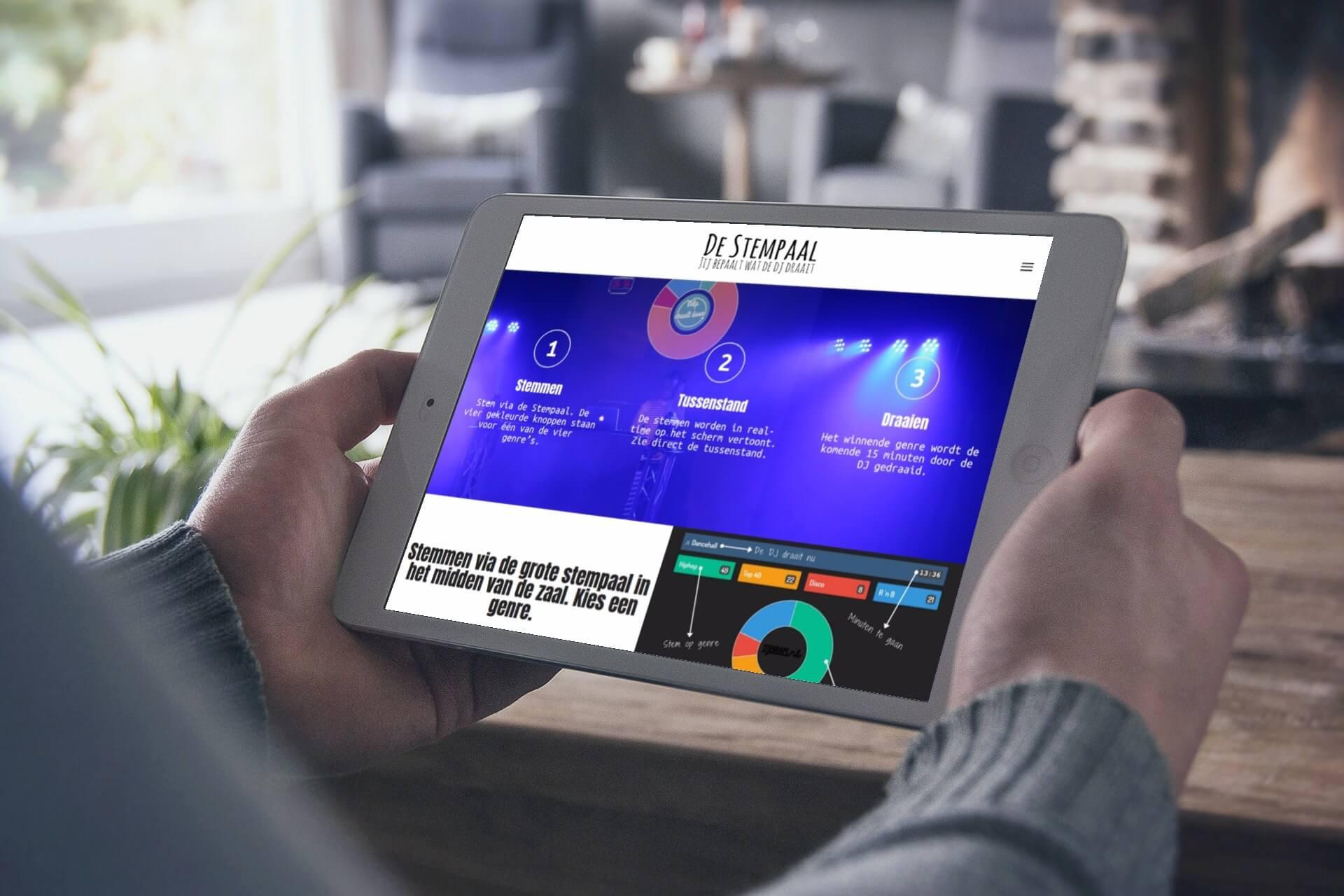 Stempaal.nl tablet