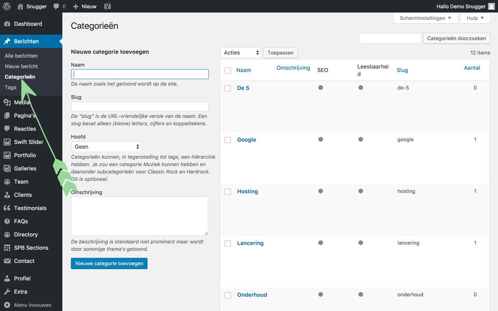 WordPress-handleiding-nieuwe-categorie