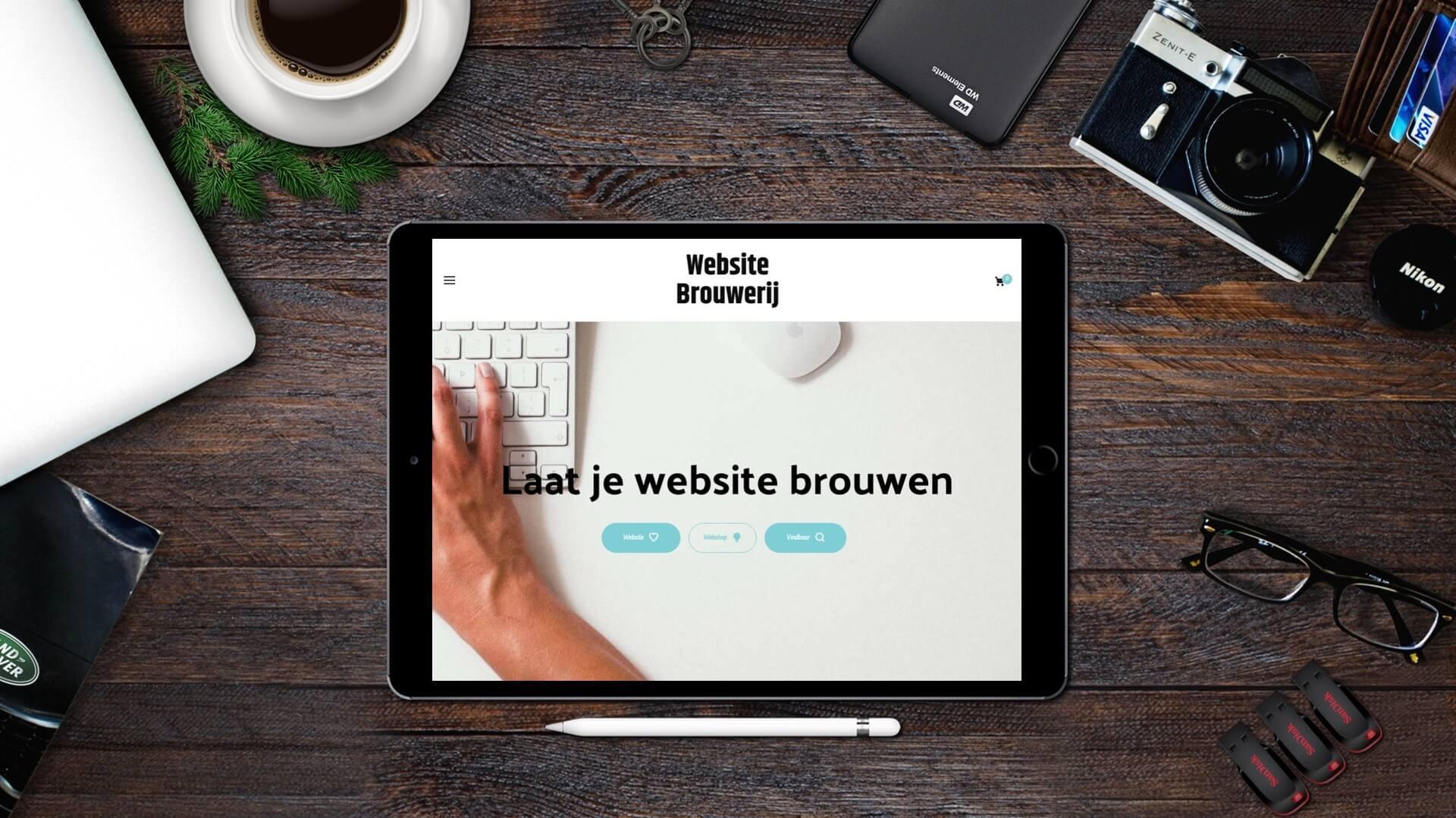 websitebrouwerij.nl tablet