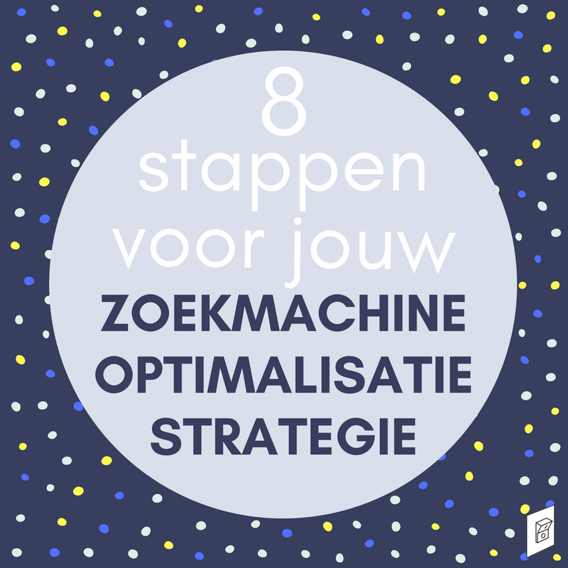 SEO strategie 8 stappen TN