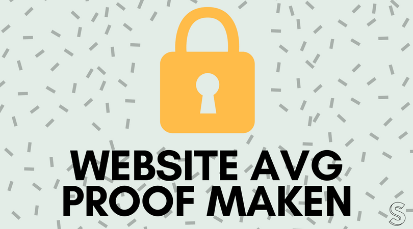 Website of webshop AVG proof maken